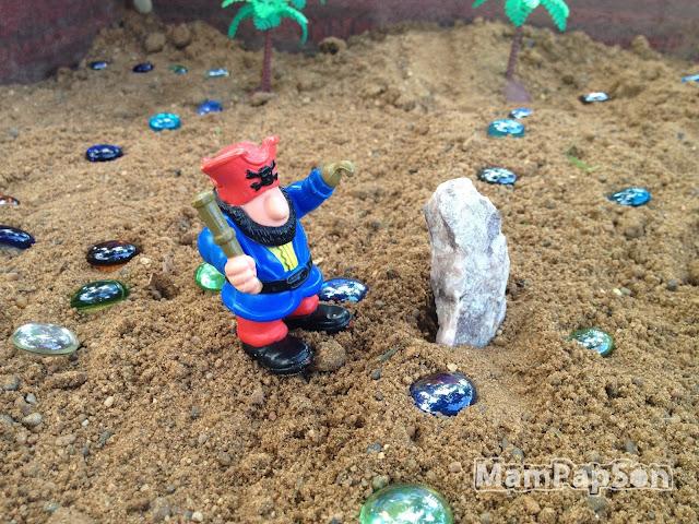 Клад в песочнице