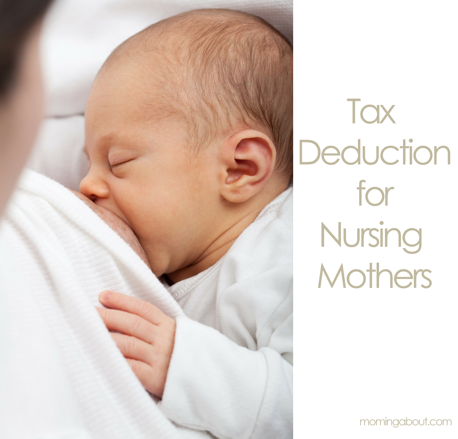 Breastfeeding Tax Deduction