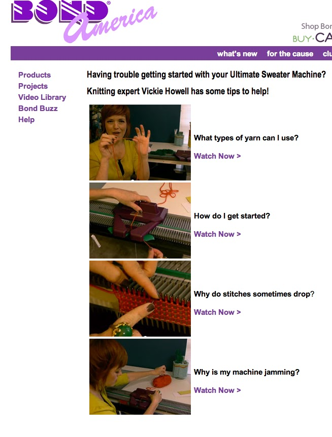 Ultimate Knitting Quiz : From me to you ultimate sweat machine tips vickie howell