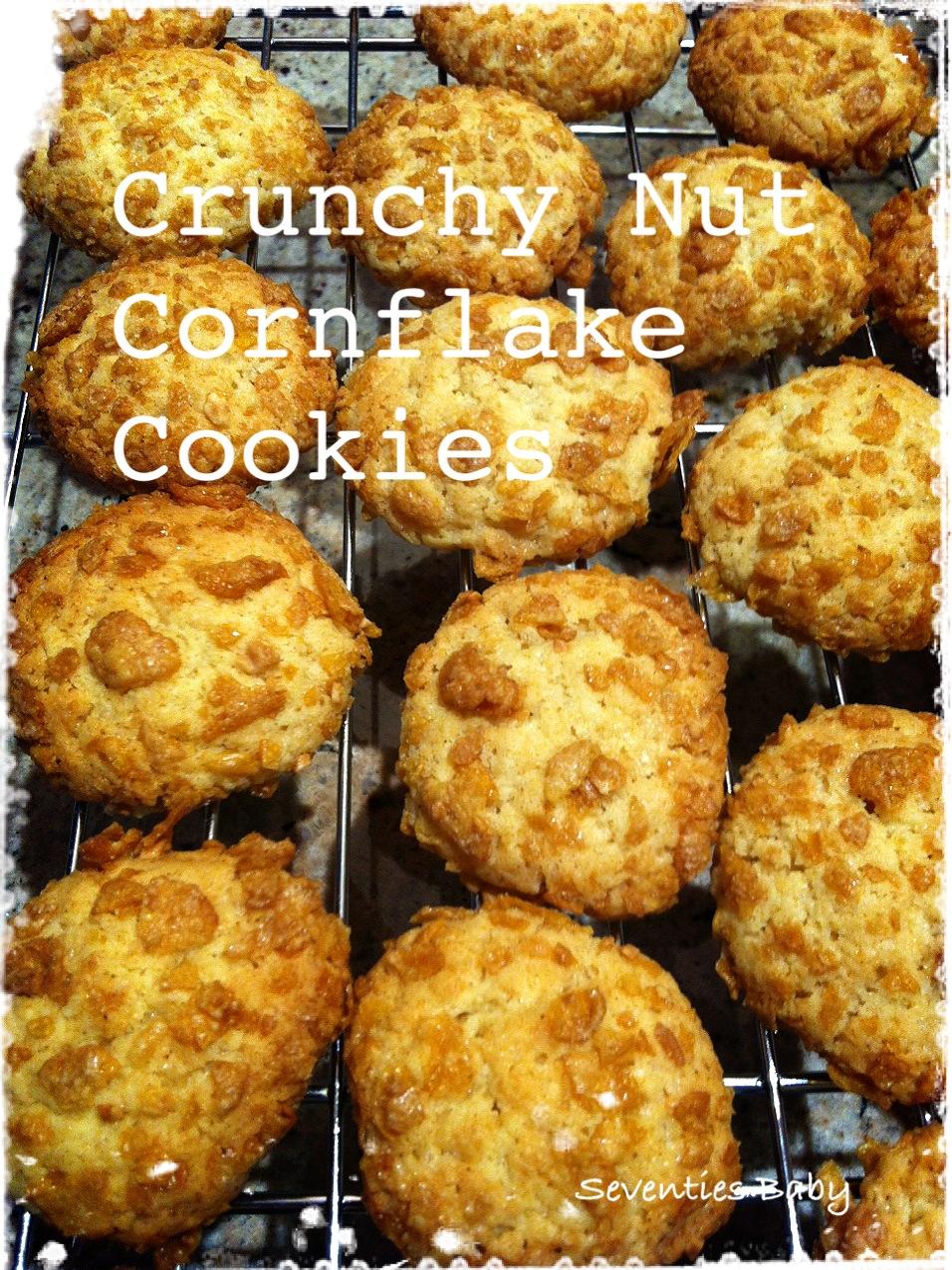 Seventies Baby: Crunchy Nut Cornflake Cookies