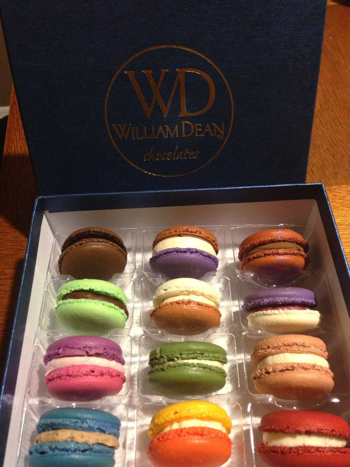 I Run For Wine: William Dean Events - Macaron Class