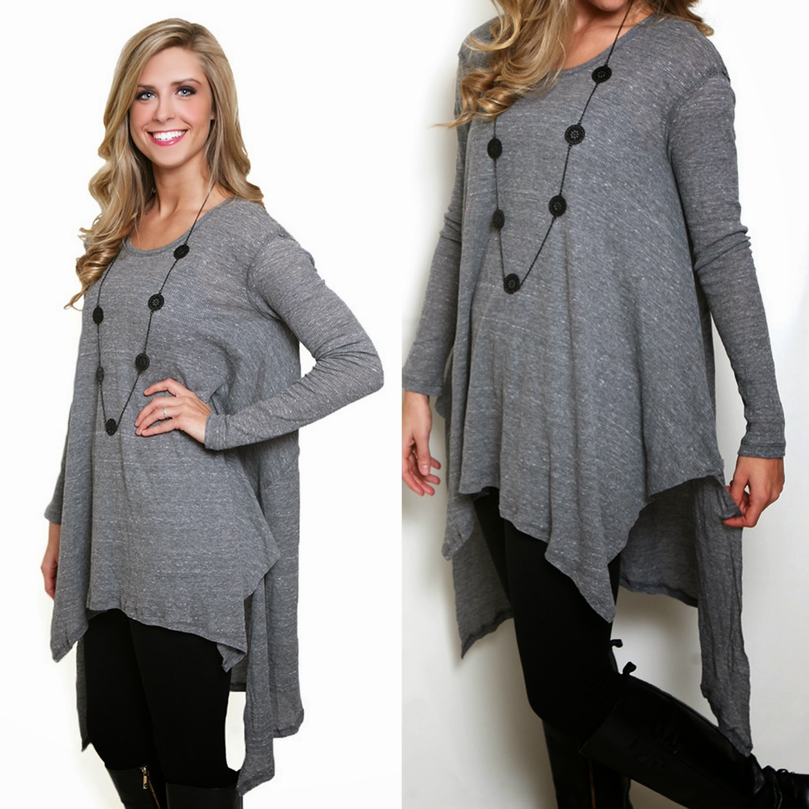 Cute grey tunic by Free People