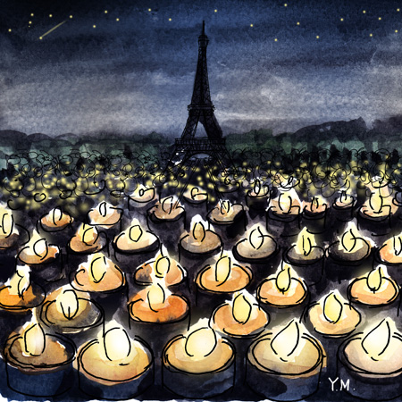Nightmare in Paris by Yukié Matsushita