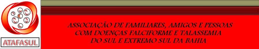 ANEMIA FALCIFORME E TALASSEMIA - NA LUTA PELA VIDA!