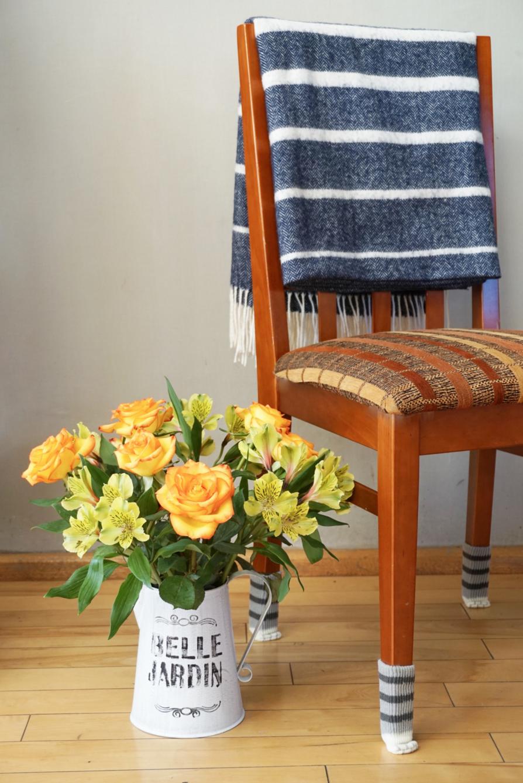 Как просто сшить чехлы на ножки стула в стиле шебби-шик Hand-made 87