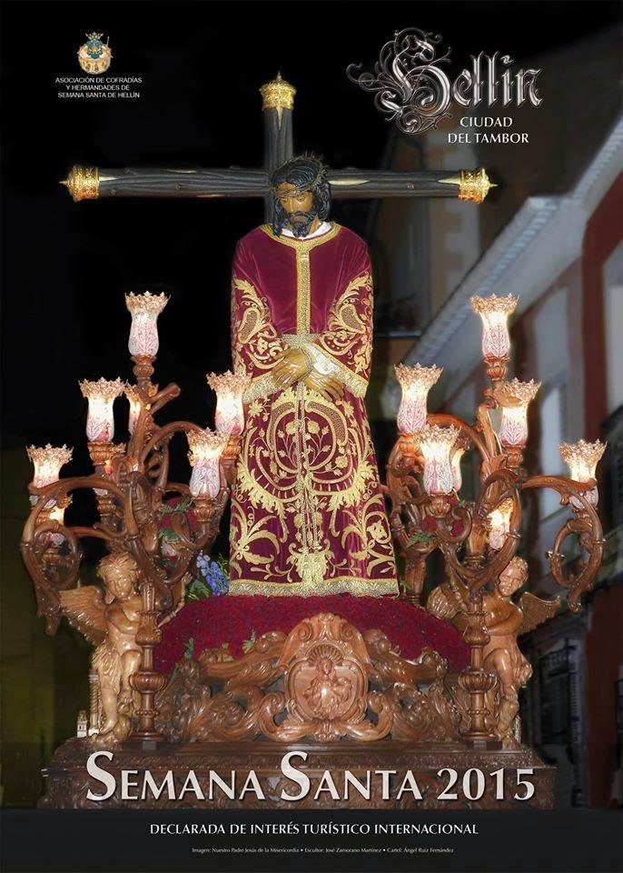Cartel Oficial de la Semana Santa de Hellín 2015