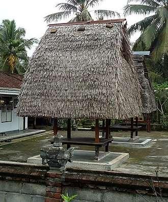 Traditional Jineng Bali