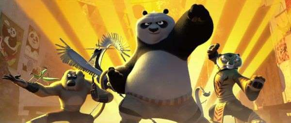 'Kung Fu Panda' kicks up box office rankings