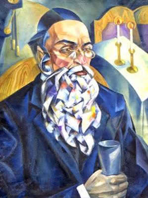 Натан Альтман, Встреча Шабата, 1910