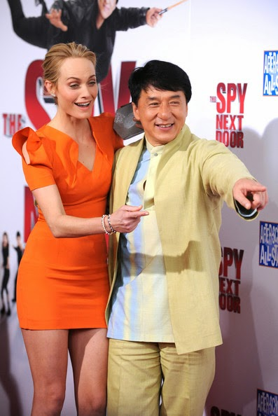 The Spy Next Door Starring Jackie Chan And Amber Valletta