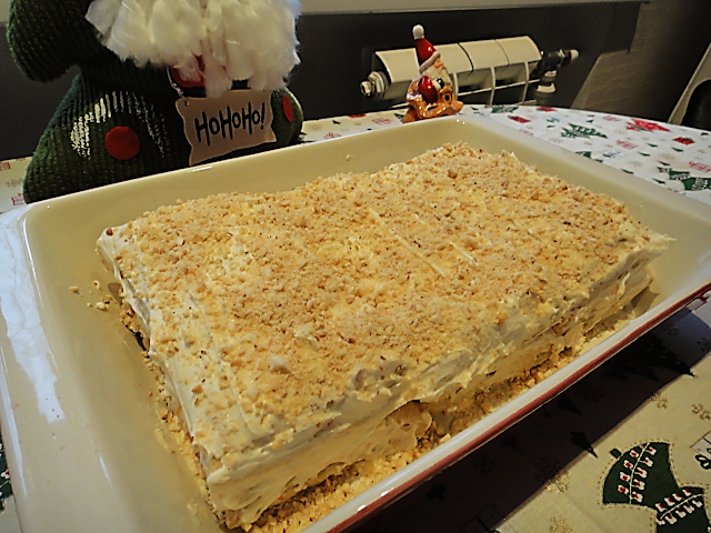 клубничный наполеон вкусный новогодний тортик ухо от селедки