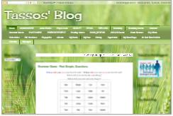 Tassos' Blog