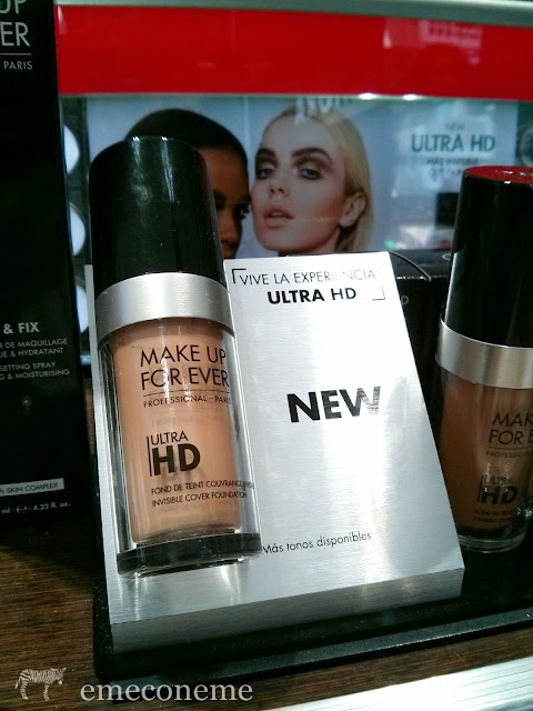 MUFE  NEW HD FOUNDATION