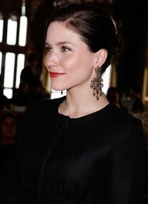 Sophia Bush Gemstone Chandelier Earrings