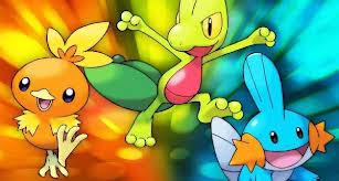 Generation Three Starter Pokémon