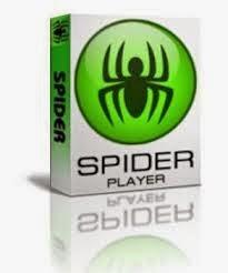 برنامج spider player لتشغيل الاغانى اخر اصدار