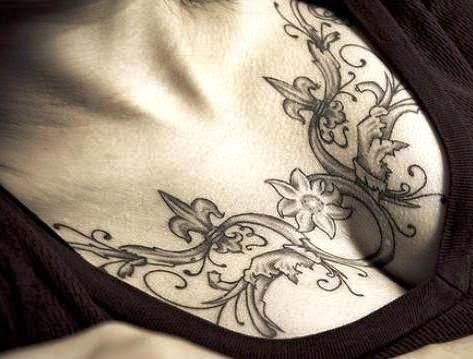 Breast Tattoos