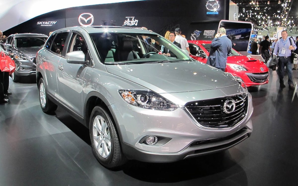 2013 Mazda CX 9 Widescreen HD Wallpaper 9