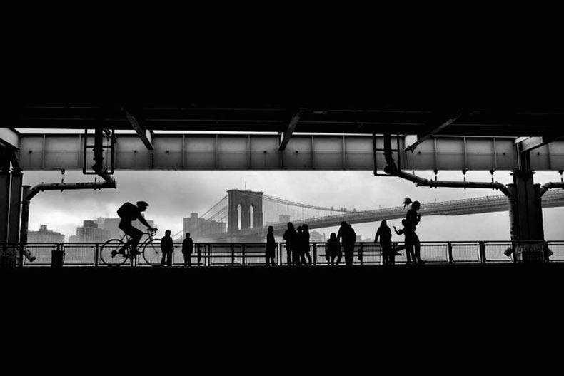 Singulares fotografías en blanco y negro de la ciudad de Nueva York