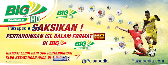 Cara Mengaktifkan Paket ISL Big TV Prabayar