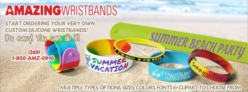 Summer wristbands