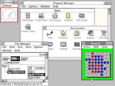 screenshot foto windows 3.0