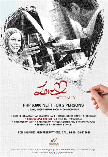 Celebrate Love At Manila Pavilion Hotel