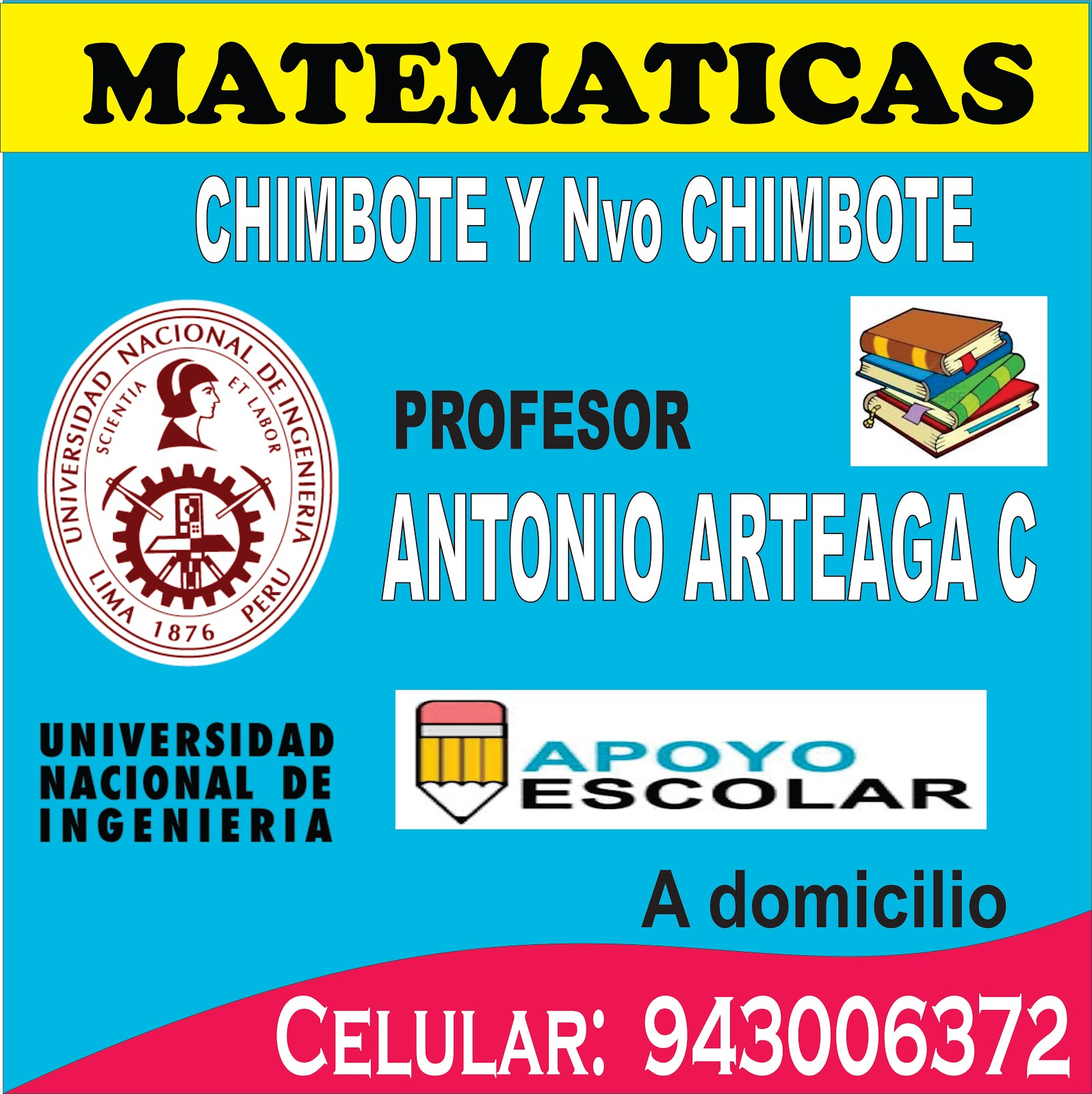 PROFESOR DE MATEMATICAS EN CHIMBOTE