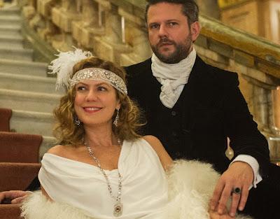 Isabel D´Ávila de Alencar (Patricia Pillar) e Augusto de Valmont (Selton Mello) Crédito: Globo/Caiuá Franco