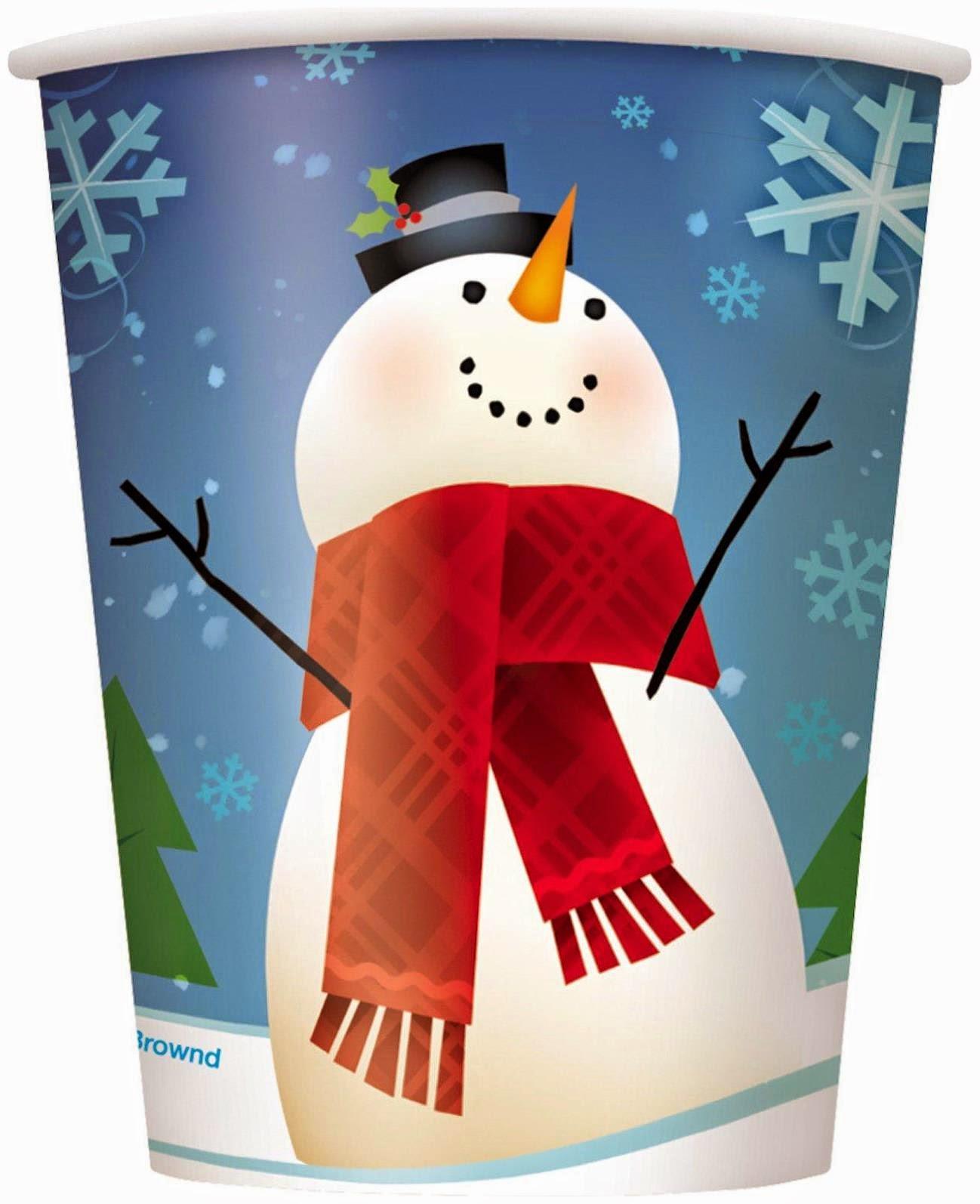 JoyFull SnowMan Cups