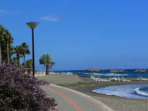 Limassol, Cyprus and Mediterranean Sea