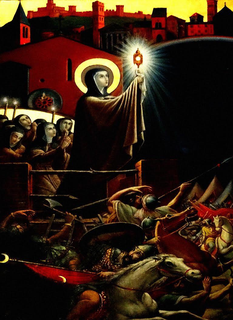 De Heilige Clara van Assisi