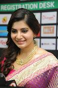 Samantha gorgeous photos in saree-thumbnail-9