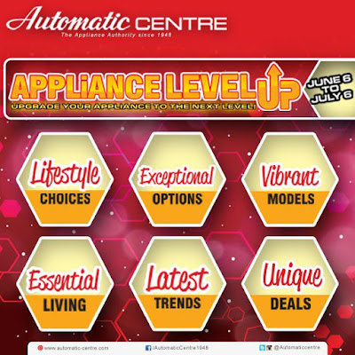 Automatic Centre: APPLIANCE LEVEL UP