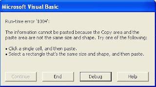 Runtime Error 1004 Excel