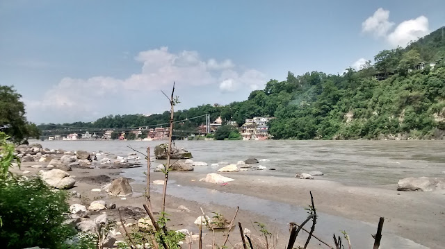 ganga beach near rishikesh