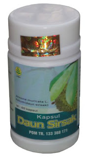herbal kapsul daun sirsak tazakka