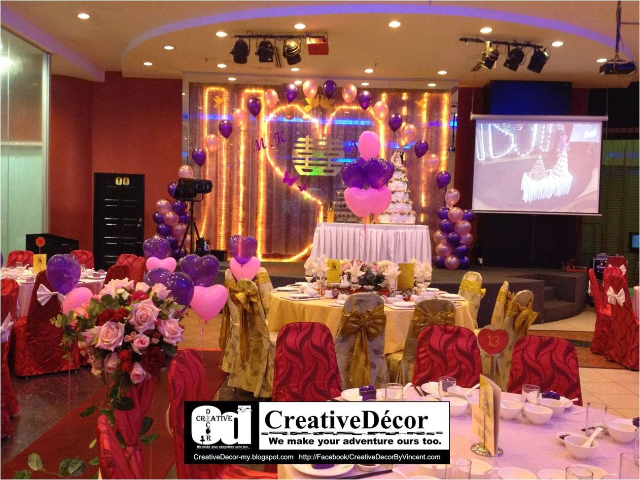 Chinese wedding reception decoration ideas de lovely affair chinese chinese wedding reception decoration ideas creativedcor by vincent balloon decoration chinese junglespirit Images