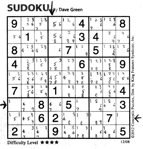 image gallery sudoku chart