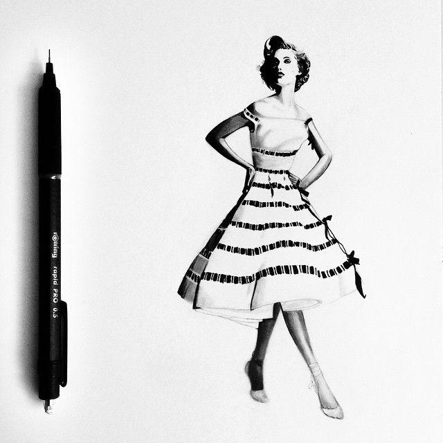 Talentosa artista desenha minúsculos imagens hiper-realistas