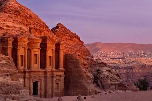 """Al Khazneh or """"The Treasury"""" at Petra, Jordan"""
