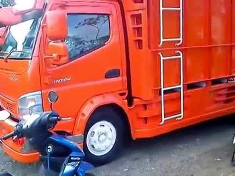 modifikasi mobil truck mitsubishi canter 125 hd gaul