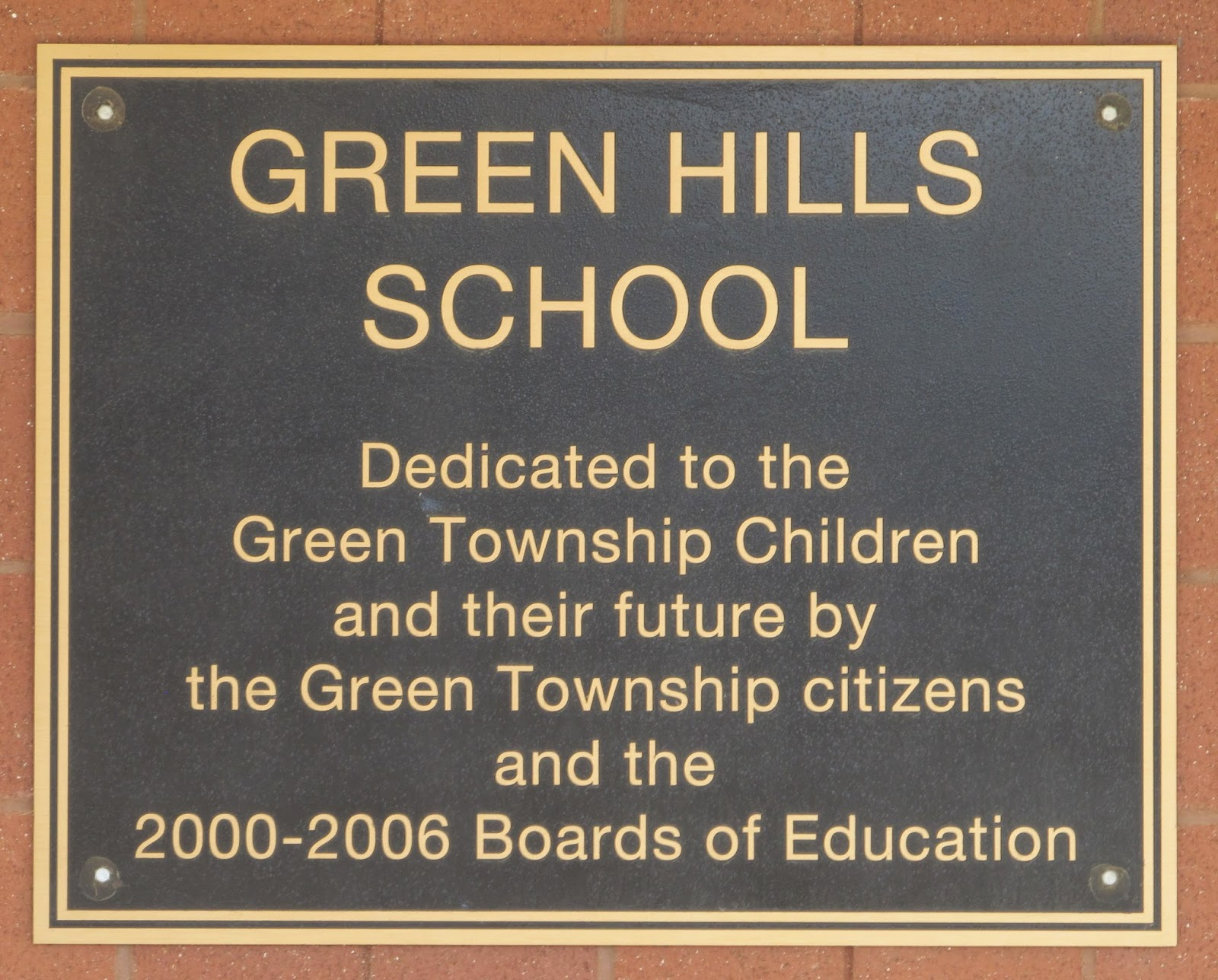 Green Hills Elementary in NJ