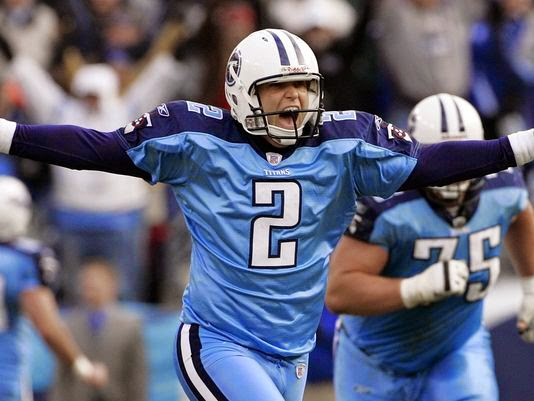 Rob Bironas left lasting memories with Titans teammates