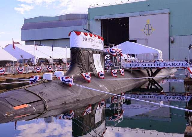 Military News - Delivery of submarine North Dakota delayed to Navy