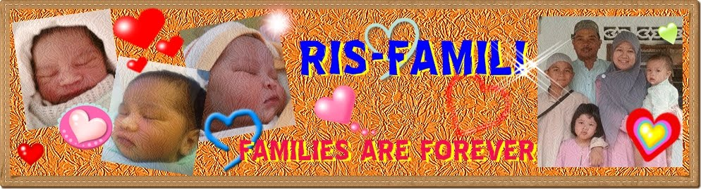 RIS-FAMILI | FAMILIES ARE FOREVER