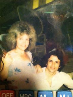 Gloria with Wayne Massey (soap star)