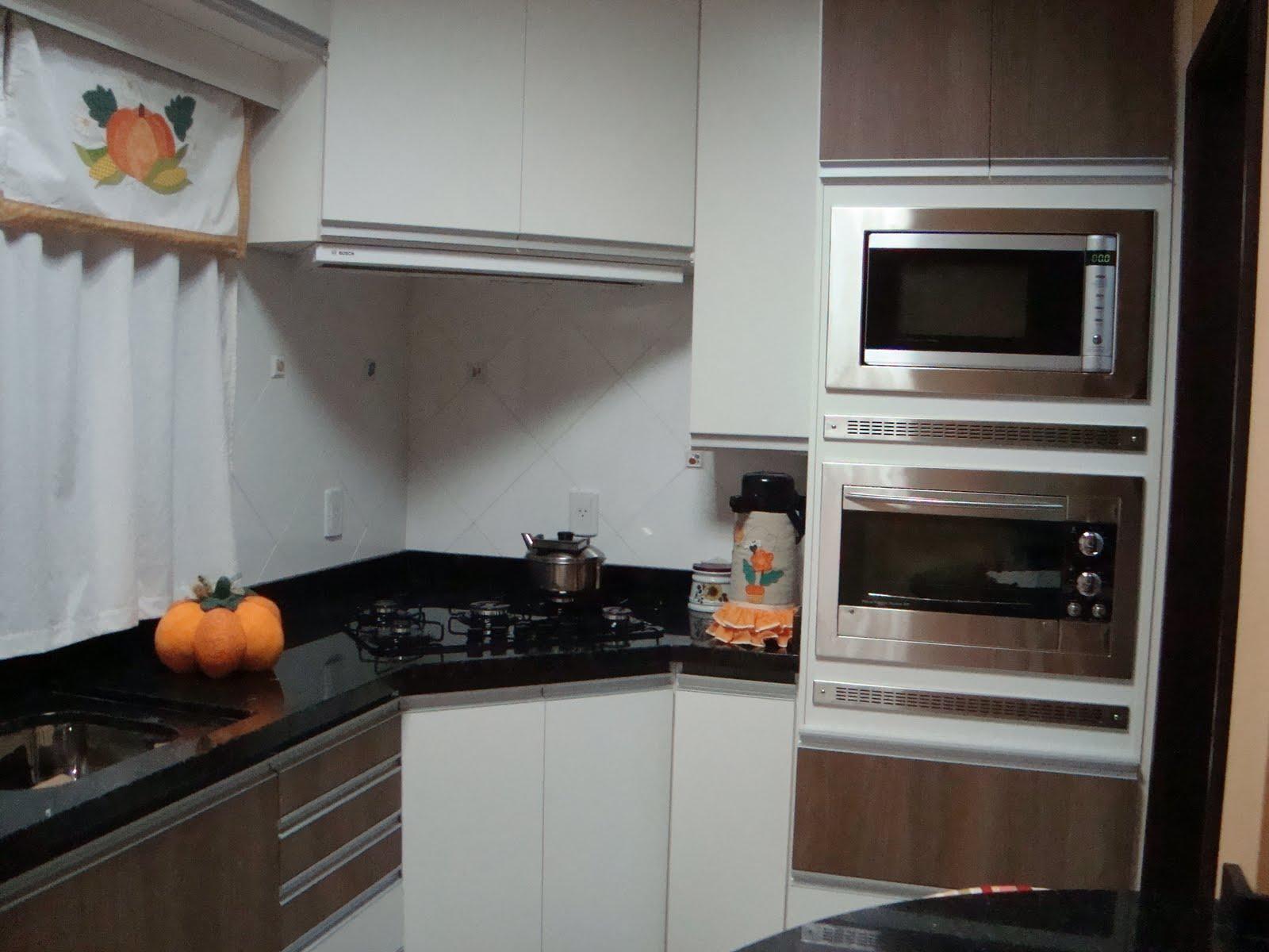 Projeto Feito Sonho Realizado: Fotos da cozinha pronta  #81644A 1600 1200