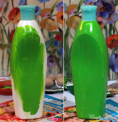 Crafty moods free craft and lifestyle projects resource for Plastic bottle vase craft