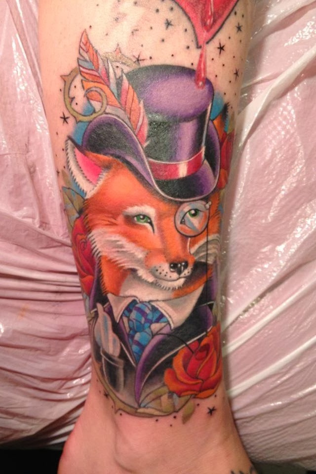 Arm Fox Tattoo